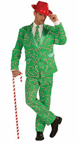 Step Up in a Men's Ugly Christmas Sweater Suit