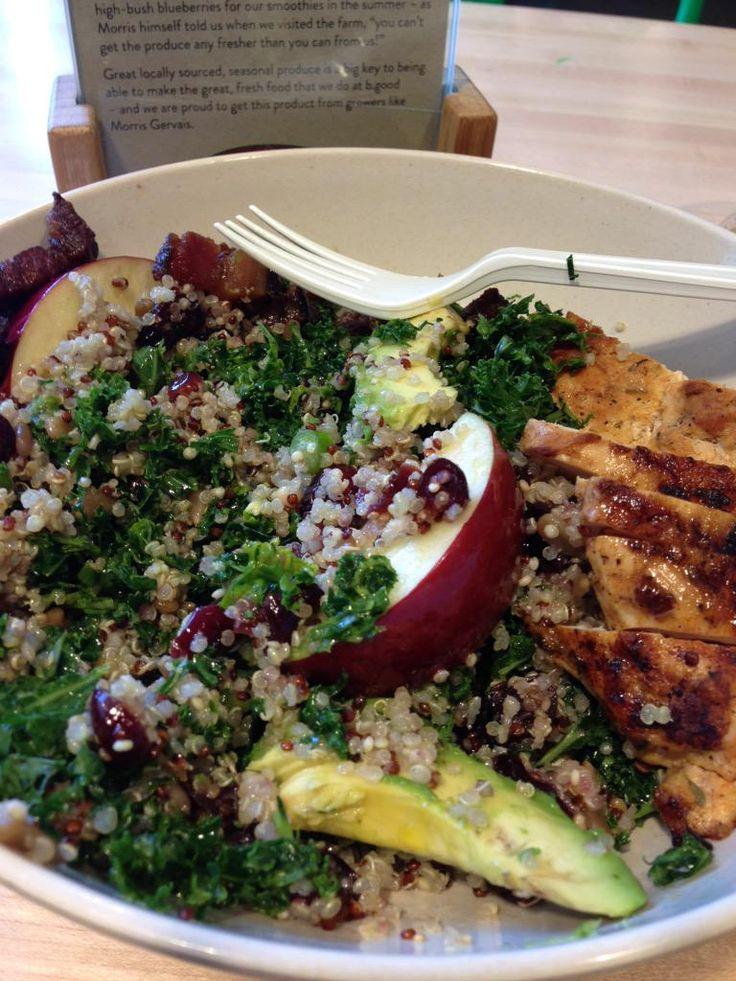 Post #RTZ meal: a quinoa bowl from @bgoodCanada! Delish!