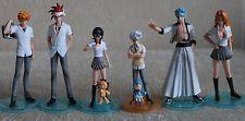 Original Bandai Bleach Styling 8pcs Set Figures Ichigo Rukia Grimmjow Kon etc~