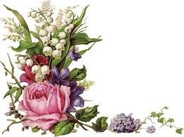 Resultado de imagem para flores vintage png