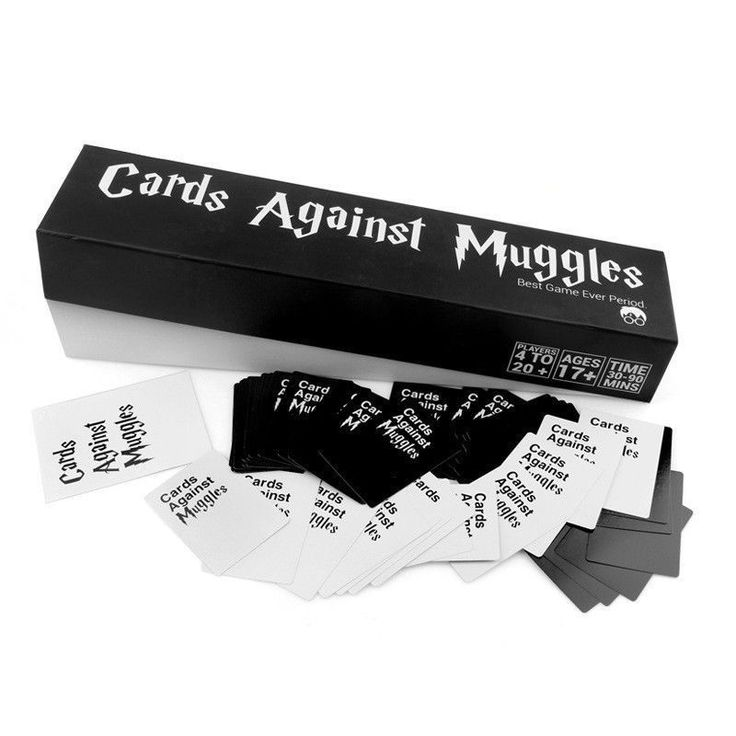 1356 cards against muggles cards against humanity table