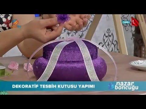 Tesbih Kutusu Yapımı - Nazar Boncuğu