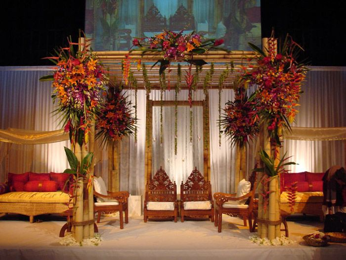 balinese inspired bamboo wedding canopy - Bamboo Canopy 2015