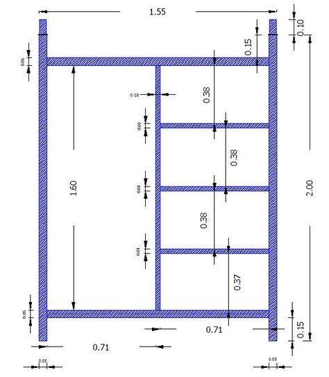 Dimensiones andamios azul ANDAMIOS EN MORELIA Cel. 4431282553