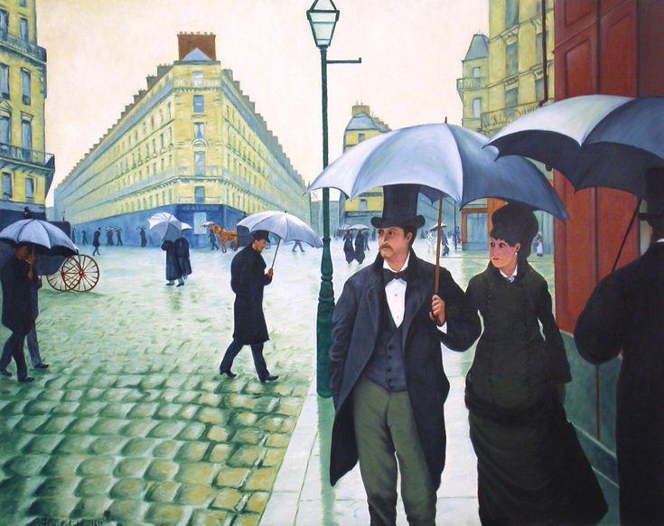 Paris Street, Rainy Day (1877) Caillebotte