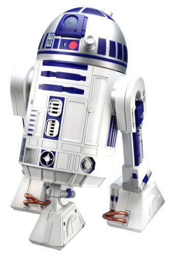 Amazon.com: Star Wars Interactive R2D2 Astromech Droid Robot: Toys & Games