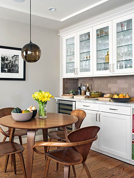 Decorating With Gray Walls Accessories And Accents WallsWhite WallsGray ColorRoom KitchenKitchen IdeasThe GrayDining