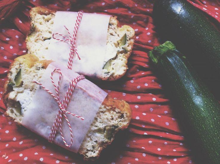 Recette cake salé courgettes chevre frais