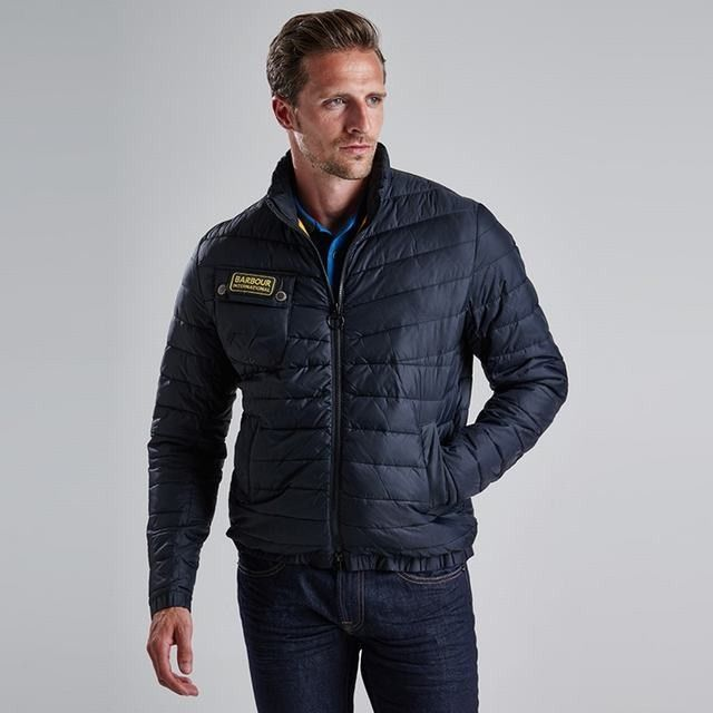 Barbour Millfire Quilted Jacket Old Rose