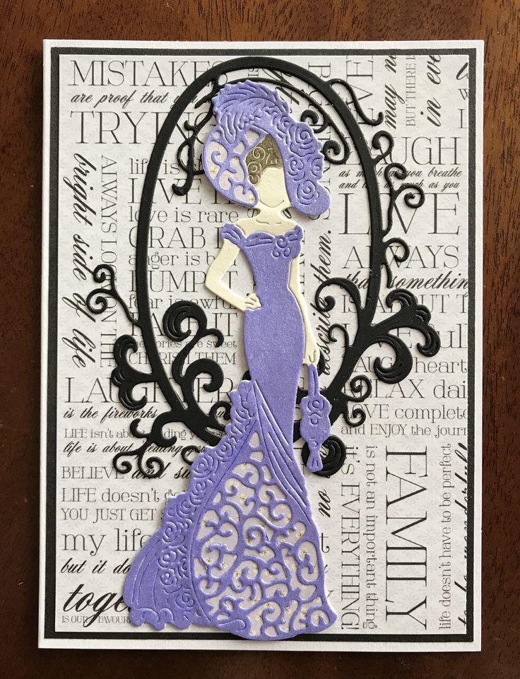 Style & Elegance lady die