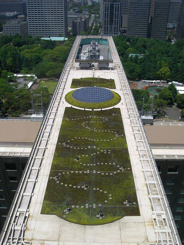 Mejores 80 im genes de jardines verticales y techos verdes Techos verdes y jardines verticales