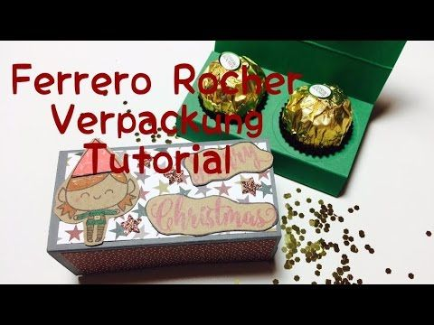 diy verpackung f r ferrero rochers tutorial boxes. Black Bedroom Furniture Sets. Home Design Ideas