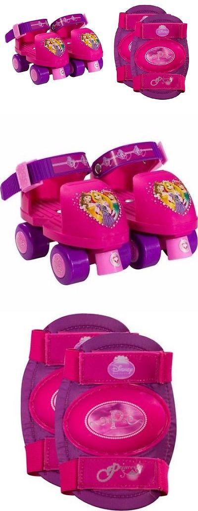 Youth 71156: First Roller Skates For Toddler Kids Girls Pink Skating Wheels With Knee Pads Us -> BUY IT NOW ONLY: $34.44 on eBay!