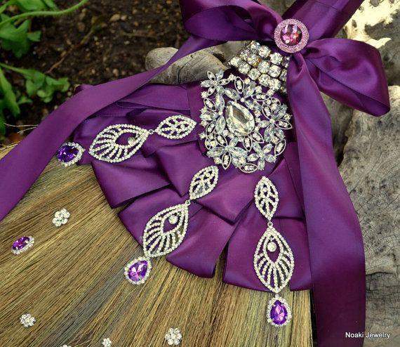 Wedding Broom Ideas: Fuschia And Purple Wedding Broom -- Made To Order Wedding