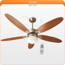 Ventilateur de plafond 132 cm, avec lampe et télécommande style contemporain..