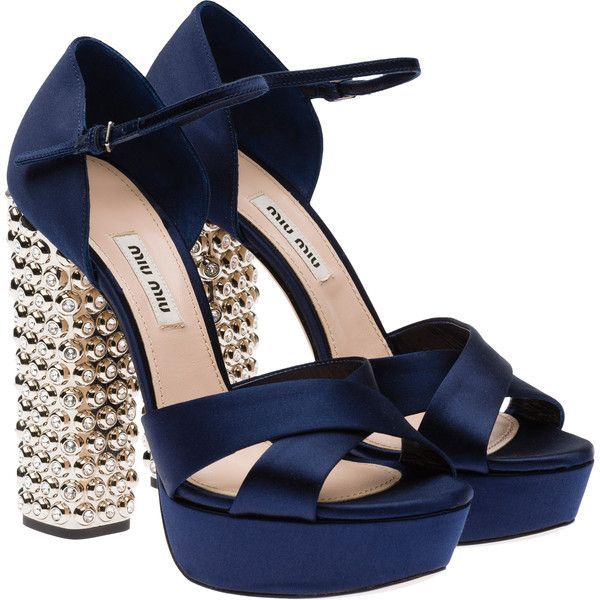 1000  ideas about Blue Sandals Heels on Pinterest | Black high ...