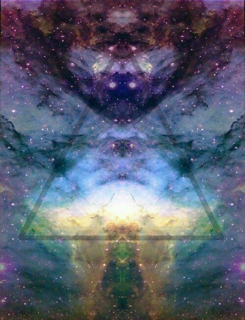 Biami's healing universe  -Biami is the creator spirit in Aboriginal spirituality