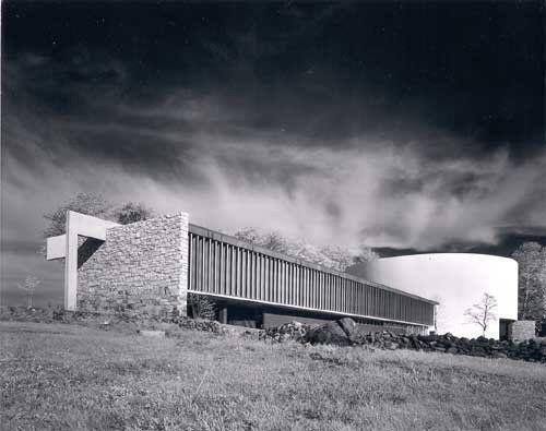 Cyclorama Building, Gettysburg PA   Richard Neutra and Robert Alexander