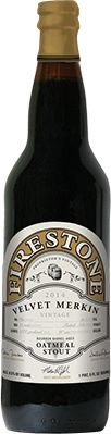 Firestone Walker Brewing Company - Velvet Merkin Oatmeal Stout