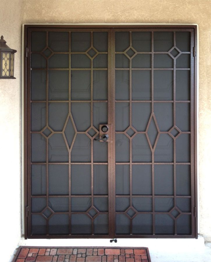 Modern Security Door Gallery All Artistic Iron Works