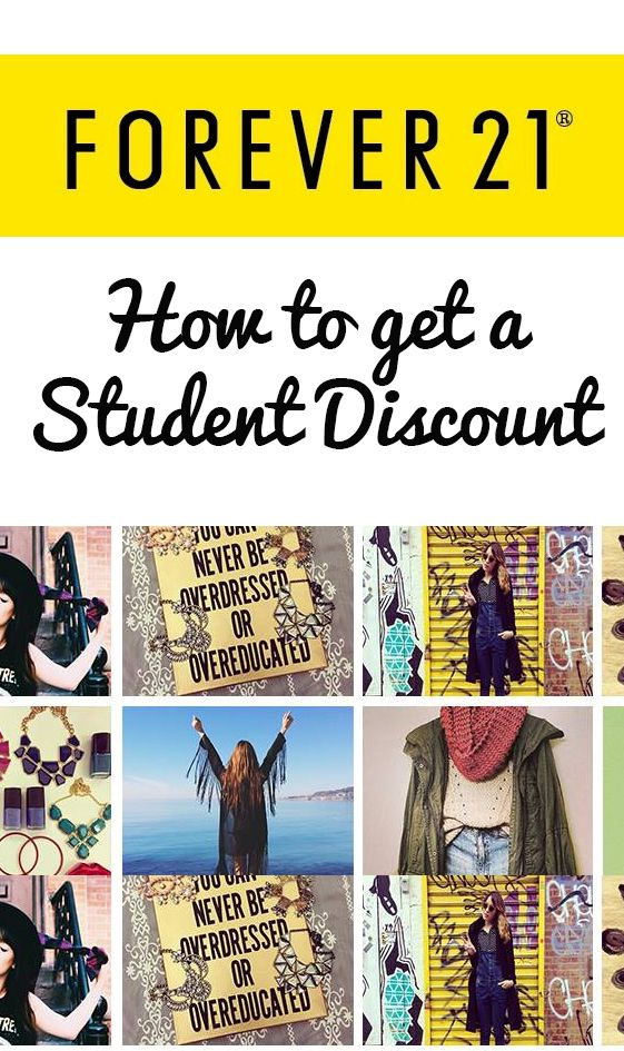 How to get a secret student discount at Forever21