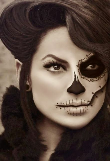 Inspire Bohemia: Sugar Skull: My Day of the Dead (Día de Muertos) Halloween Costume Inspiration!
