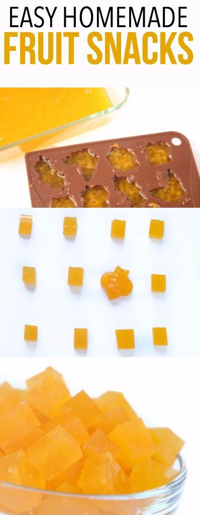 These homemade fruit snacks are so easy to make! One of the best healthy snacks your kids will love!