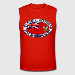 OFFICIAL MANITOBAN  BEER DRINKING SHIRT