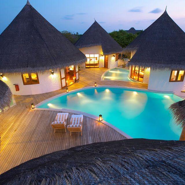 Hotel de Lujo en la Isla Hideaway de las Islas Maldivas