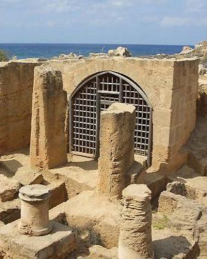Tombs of the Kings, Pafos, Cyprus