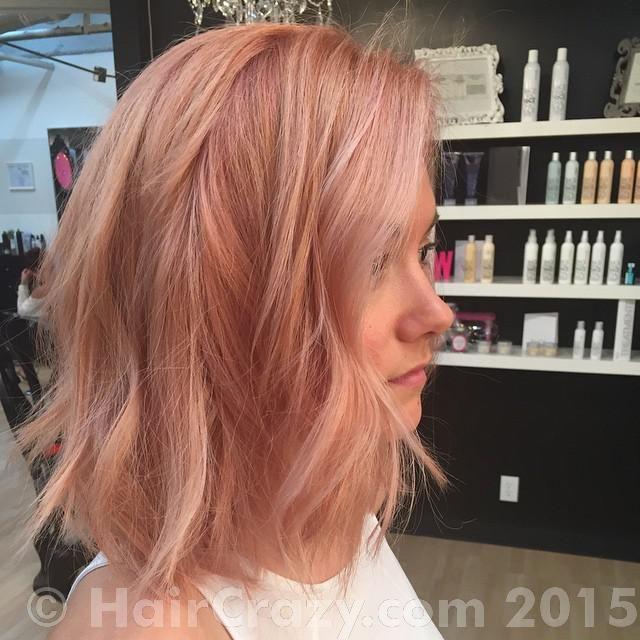 Rose Gold Hair Peg