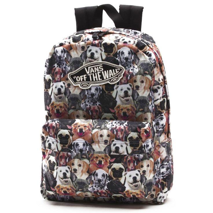 Vans Realm Rugzak ASPCA Dogs - Bagageonline