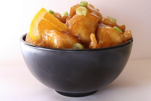 Orange Chicken Kung Pao Chicken Meat on a Stick (Chicken Skewers ...