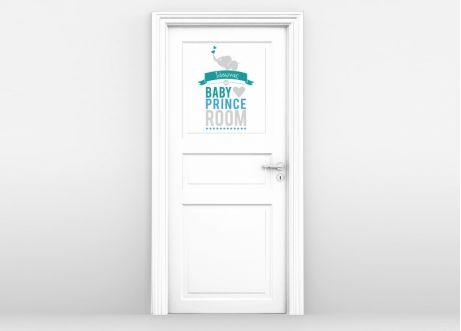 Prince Room. Αυτοκόλλητο για παιδικό δωμάτιο