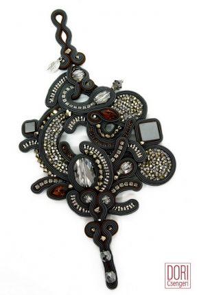 Aramis high fashion evening bracelet by Dori Csengeri  #DoriCsengeri #elegant…
