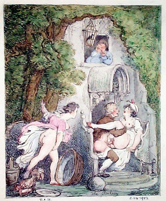 18th century naked girls