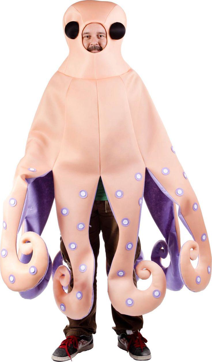 Disfraz de pulpo para adulto : Vegaoo, compra de Disfraces adultos. Disponible en www.vegaoo.es