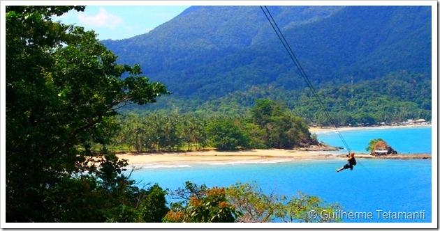 Tiroleza do final da Monkey Trail - Filipinas