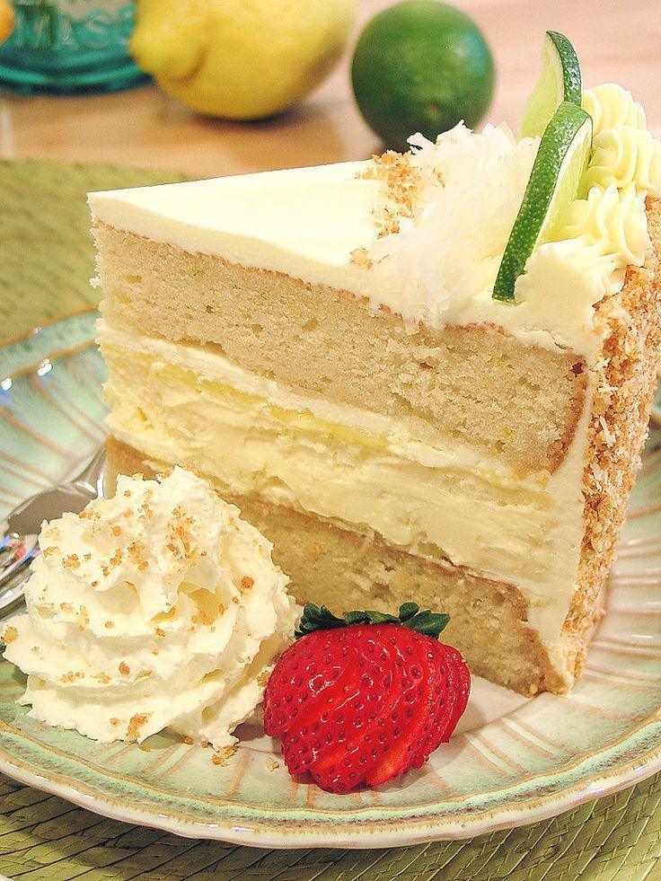 Key Lime Margarita Cheesecake Cake
