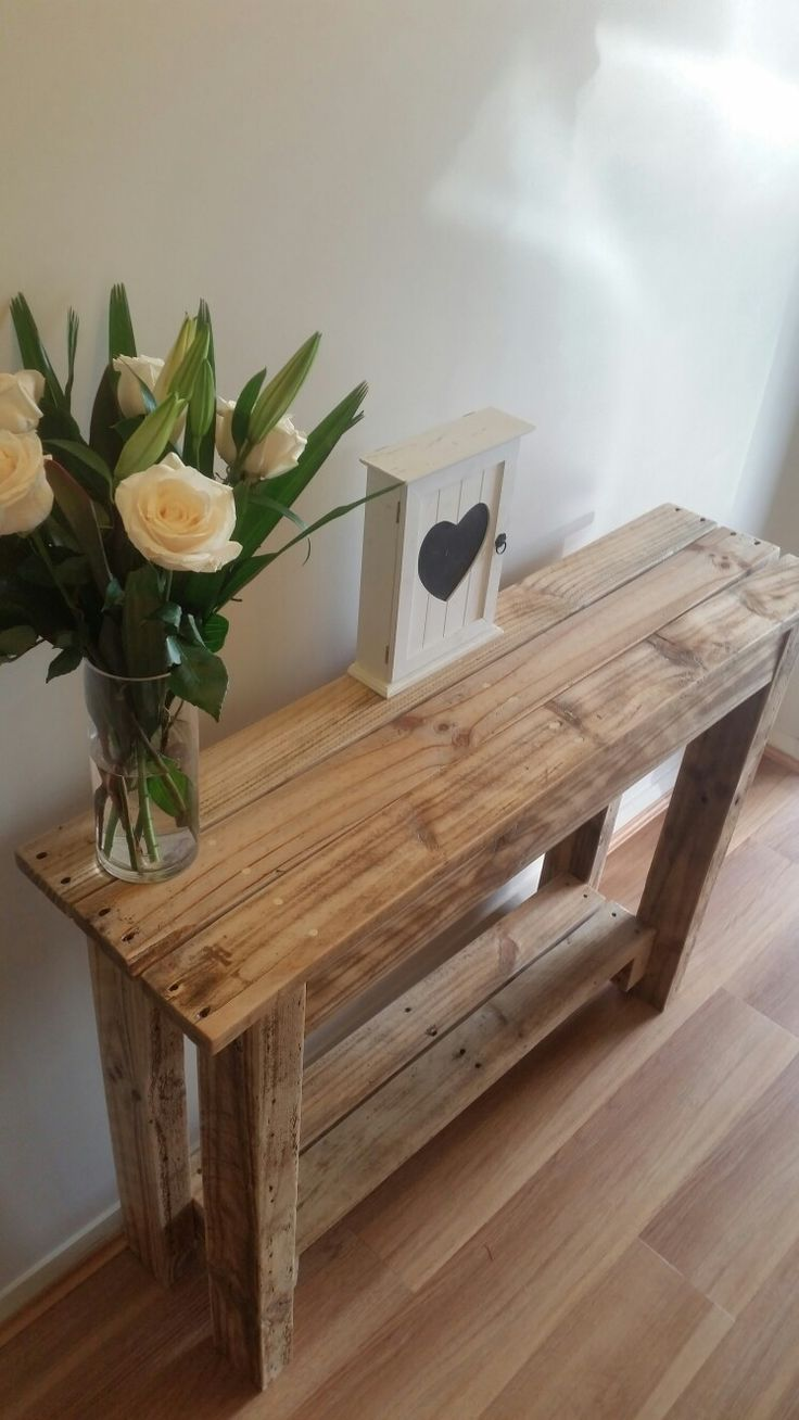 Pallet Hall Table