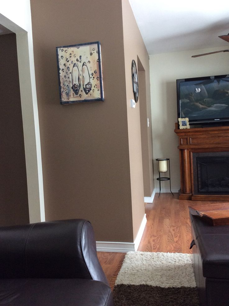 Love This Paint Color From Valspar Hot Chocolate Love My