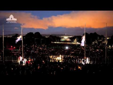Anzac Day | Australian War Memorial. Dawn service 2014.