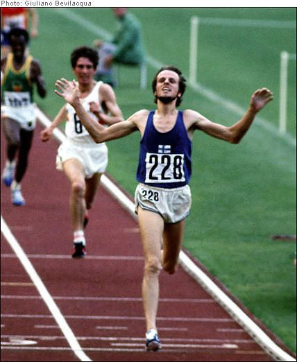 A hero of mine through my years competing in cross-country running together with mum | Lasse Viren, double gold in '72 and '76 (5000m and 10000m)