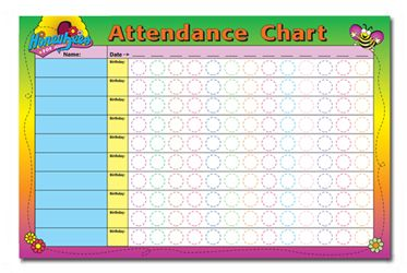 School Attendance Sheets Free Printables | Attendance chart for sunday school / Free attendance chart for sunday ...