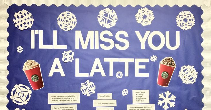 Winter Closing Info (RA Bulletin Board)