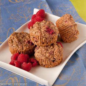 Sweet Twist of Blogging: Raspberry Quinoa Muffins