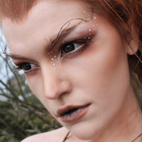Heathen Heart, Pagan Pride - (via SnapWidget | A close up of the makeup.  You...