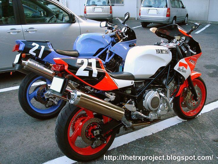 Yamaha TRX850 réplica Taira racing.