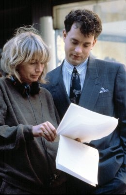 Big Behind-the-scenes.. Big (1988) - Director Penny Marshall with Tom Hanks