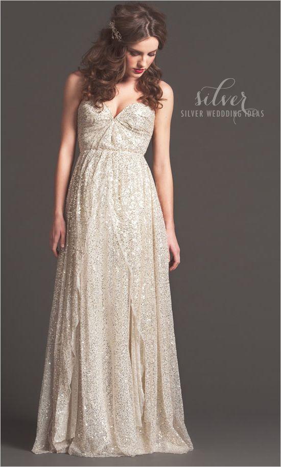 # silver wedding ideas